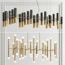 Ike 22 & Meurice Chandelier 3d model Download  Buy 3dbrute