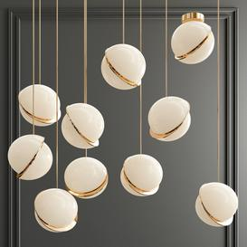 Four Hanging Lights-48 Lee Broom 3d model Download  Buy 3dbrute
