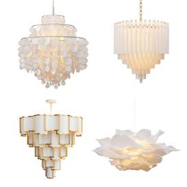 Four Exclusive Chandelier Collection 3d model Download  Buy 3dbrute