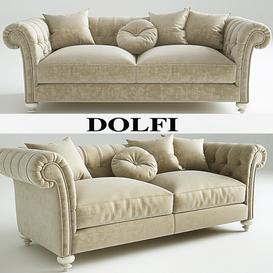 Dolfi Dylan sofa 3d model Download  Buy 3dbrute