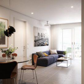 living room 3dbrute corona