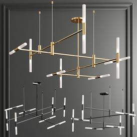 Altona Minimalist Chandelier 3d model Download  Buy 3dbrute