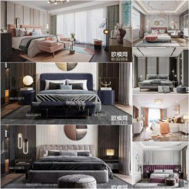 Bedroom Vol1 2020 3d model