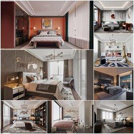 Bedroom vol2 2020 3d model