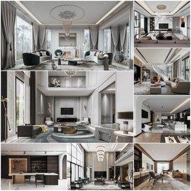 Living room vol2 2020 3d model