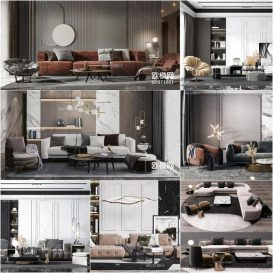 Sell Sofa Vol1 2020 3dmodel