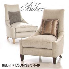 Baker Bel Air Lounge Chair 3d model Download  Buy 3dbrute