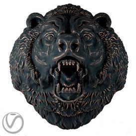 Bear head 3d model Download  Buy 3dbrute