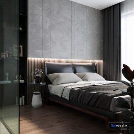 bedroom 3dsmax corona