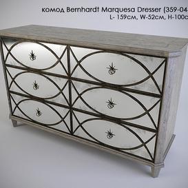 Bernhardt Marquesa Dresser 3d model Download  Buy 3dbrute