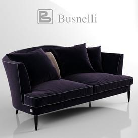busnelli tresor sofa 3d model Download  Buy 3dbrute