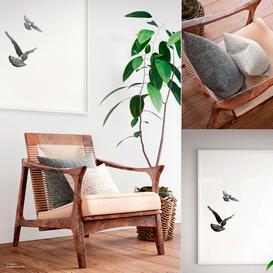 Canoe Lounge Chair 3d model Download  Buy 3dbrute