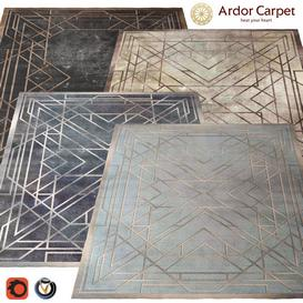 Carpet Ardor  Echelle  2400h3000  4 colors 3d model Download  Buy 3dbrute