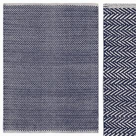 Carpet Dash Albert Herringbone Indigo Woven Cotton Rug 3d model Download  Buy 3dbrute
