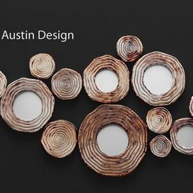 Circle Cluster Wall Decor 3d model Download  Buy 3dbrute