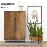 Crate&Barrel 3d model Download  Buy 3dbrute