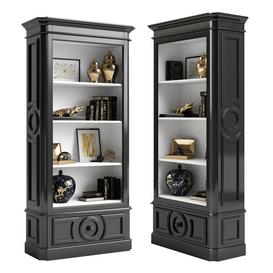 Eichholtz Cabinet Elegancia 109916 3d model Download  Buy 3dbrute