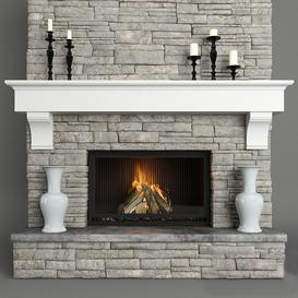 fireplace 3d model Download  Buy 3dbrute