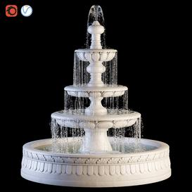 Fountain001 3d model Download  Buy 3dbrute