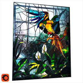 Glass Parrot 3d model Download  Buy 3dbrute
