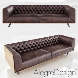 IKON Sofa by Alegre Design 3d model Download  Buy 3dbrute