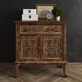 Joss&Main - Alanna Cabinet-Decorative Set 3d model Download  Buy 3dbrute