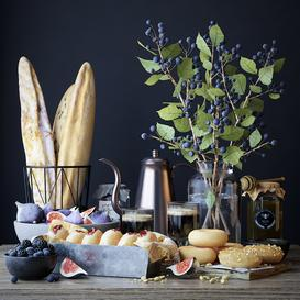 Kitchen decor set 29 3d model Download  Buy 3dbrute