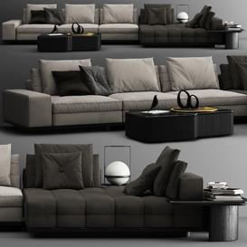 Minotti Lawrence C 3d model Download  Buy 3dbrute