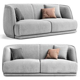Moroso Redondo Sofa 3d model Download  Buy 3dbrute
