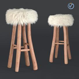 Nuvoli chair 3d model Download  Buy 3dbrute