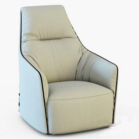 Poliform Santa Monica Lounge 3d model Download  Buy 3dbrute
