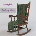 Rocking chair 3d model Download  Buy 3dbrute