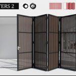 Shutters 2 3d model Download  Buy 3dbrute