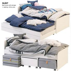 SLAKT IKEA 3d model Download  Buy 3dbrute