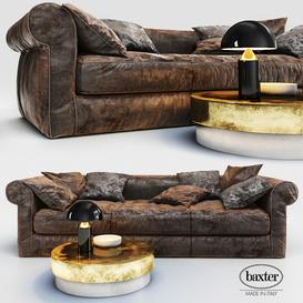 Sofa Baxter Alfred Soft 3d model Download  Buy 3dbrute