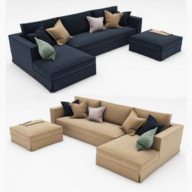 sofa collecton 11 3d model Download  Buy 3dbrute