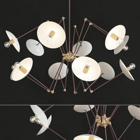 Sputnik Chandelier 3d model Download  Buy 3dbrute