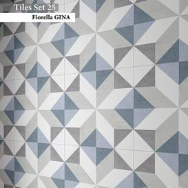 Tiles set 25 3d model Download  Buy 3dbrute