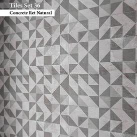 Tiles set 36 3d model Download  Buy 3dbrute