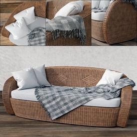 VARASCHIN Bolero Garden Sofa 3d model Download  Buy 3dbrute