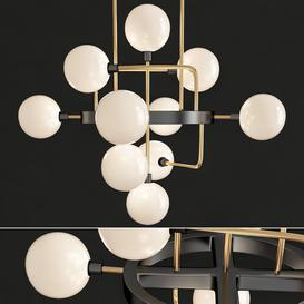 Viaggio Chandelier in 2019 3d model Download  Buy 3dbrute