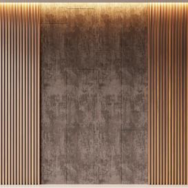 Wall panel 02 3d model Download  Buy 3dbrute
