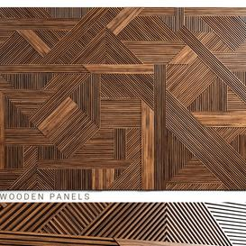 Wooden panels 3 3d model Download  Buy 3dbrute