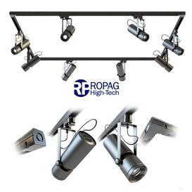 RoPag High-Tech Euro Spot MR016 LT 3d model Download  Buy 3dbrute