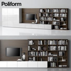 Varenna-Poliform-DAY-SYSTEM-21 3d model Download  Buy 3dbrute