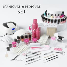 Manicure & Pedicure set 3d model Download  Buy 3dbrute
