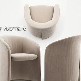Carmen armchair - Visionnaire Home Philosophy 3d model Download  Buy 3dbrute