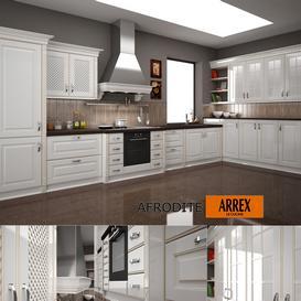 Kitchen AFRODITE f-ARREX 3d model Download  Buy 3dbrute