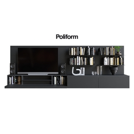 POLIFORM VARENNA SISTEMI GIORNO QUID 12 LT 3d model Download  Buy 3dbrute
