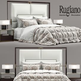 Bed Grace- Rugiano 3d model Download  Buy 3dbrute
